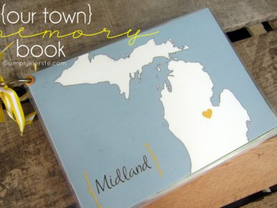 our town memory book | simplykierste.com