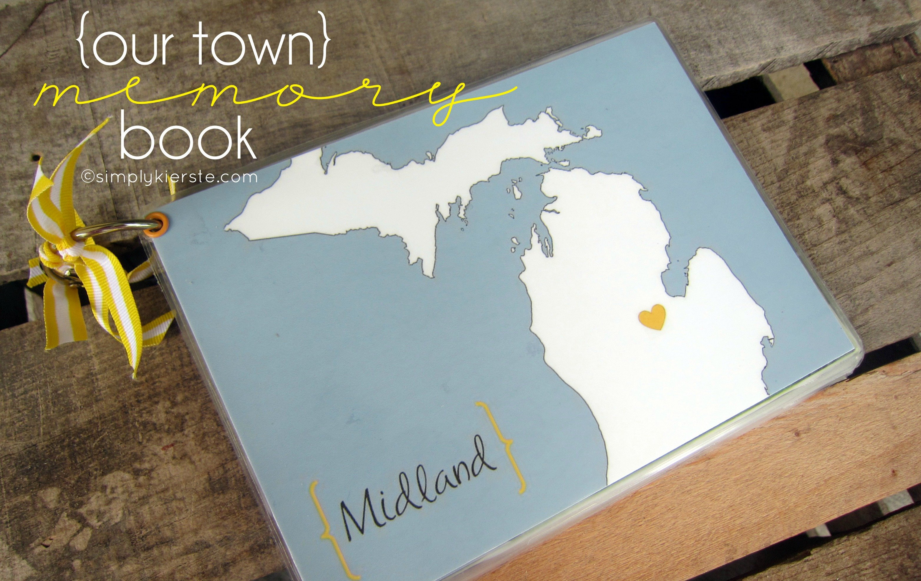 Our Town Memory Book