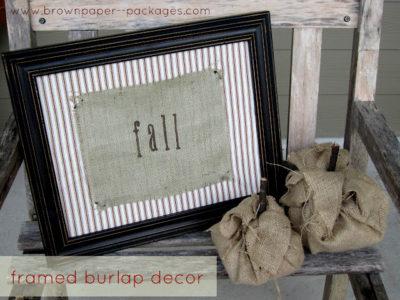 framed burlap title bpp