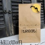 Halloween Paper Sack Gift Bags