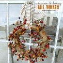 Twine & Berry Fall Wreath | simplykierste.com