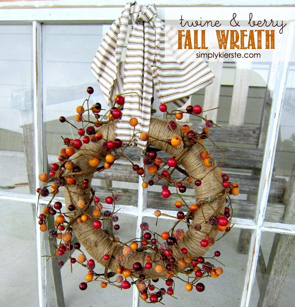 Twine & Berry Fall Wreath