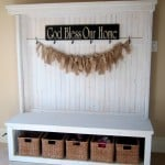 {front entry bench}