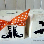 {halloween 4×4 post luminaries}