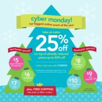 {carter's giveaway, and fabulous cyber monday deals!}