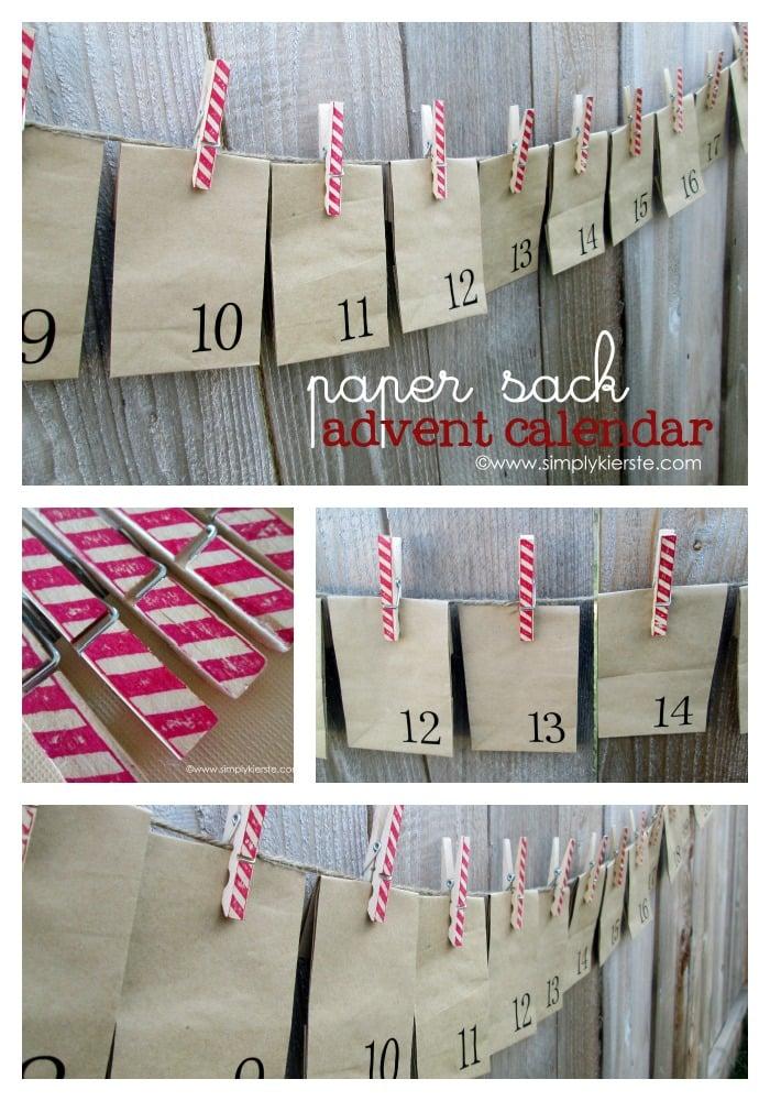 Paper Sack Advent Calendar   simplykierste.com