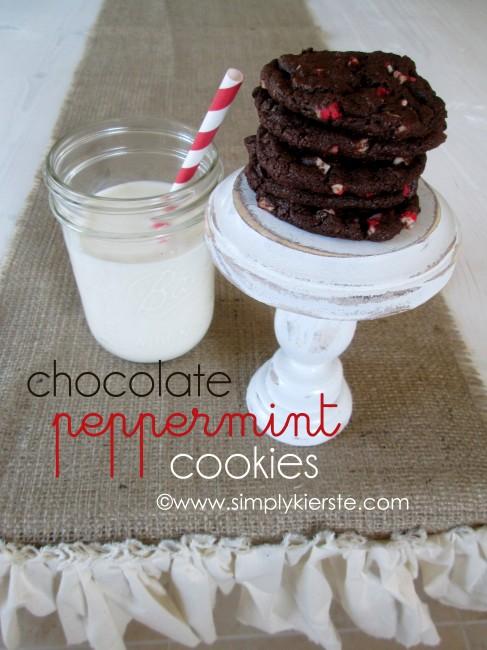 chocolate peppermint cookies} - Simply Kierste Design Co.
