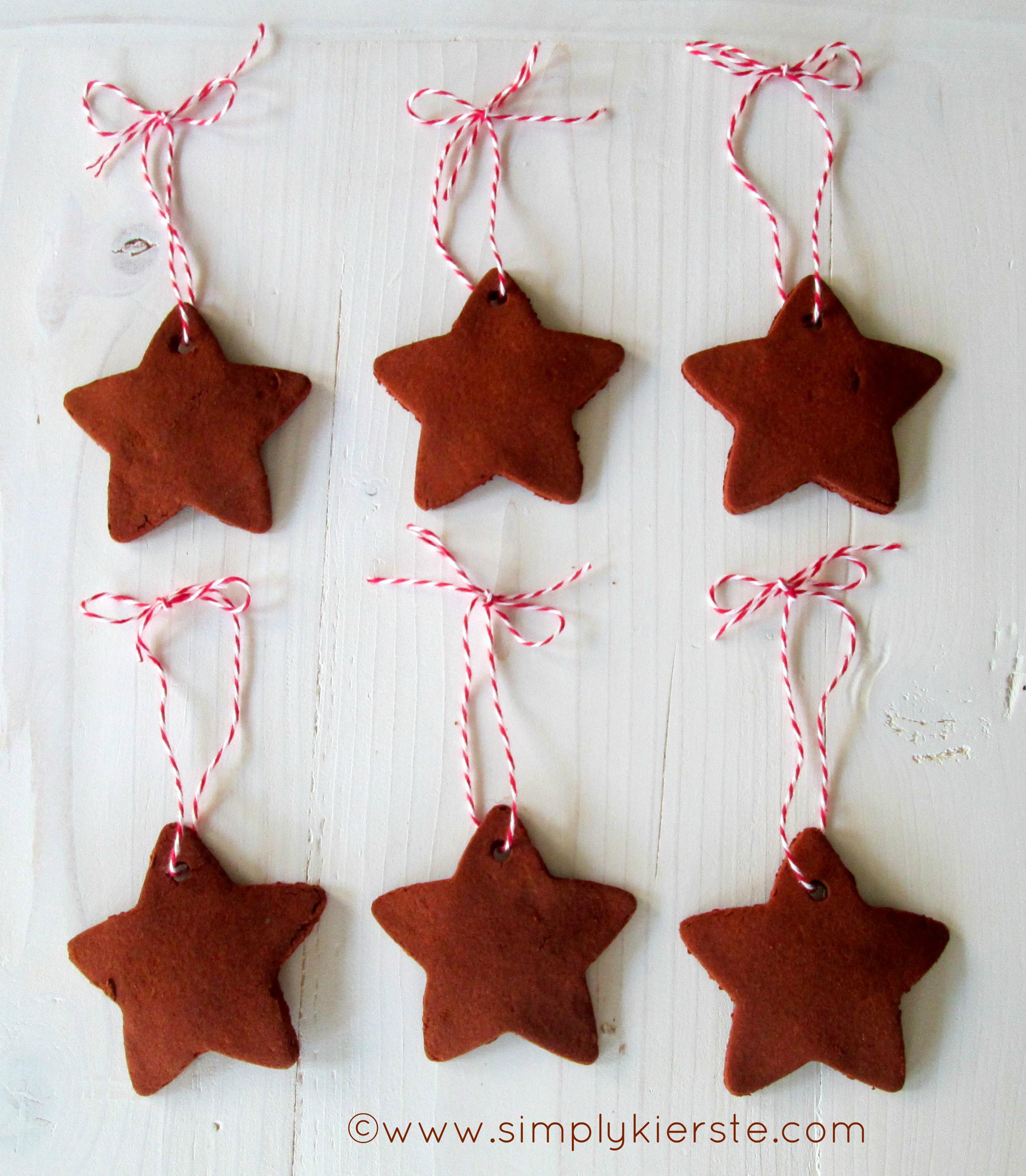 Homemade Christmas Ornaments Dough Cinnamon : Handmade cinnamon ornaments simplykierste