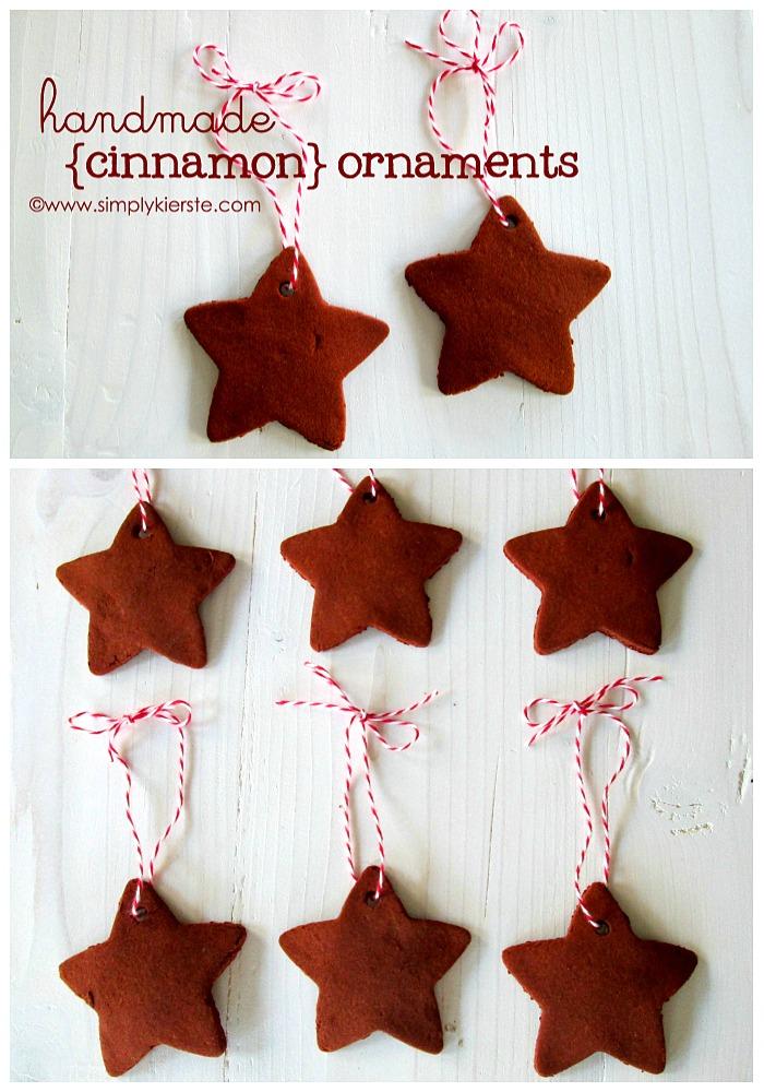 Handmade Cinnamon Ornaments | simplykierste.com