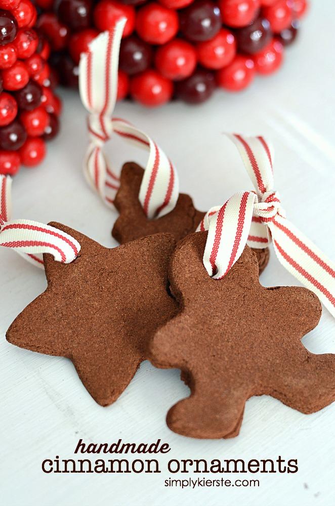 Handmade Cinnamon Ornaments   simplykierste.com