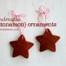 handmade cinnamon ornaments simply kierste