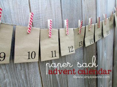 paper sack advent calendar simply kierste