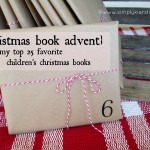 {christmas book advent & my 25 favorite christmas children's books!}