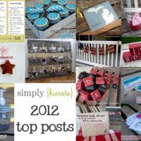 {top posts of 2012!}
