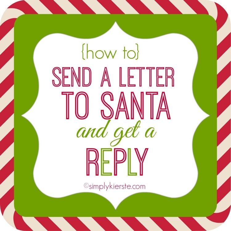 ... letters to Santa, where to postmark them, and how to get a reply