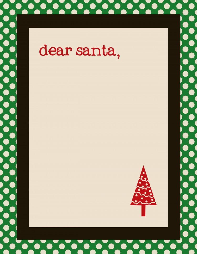 santa letter template | simplykierste.com