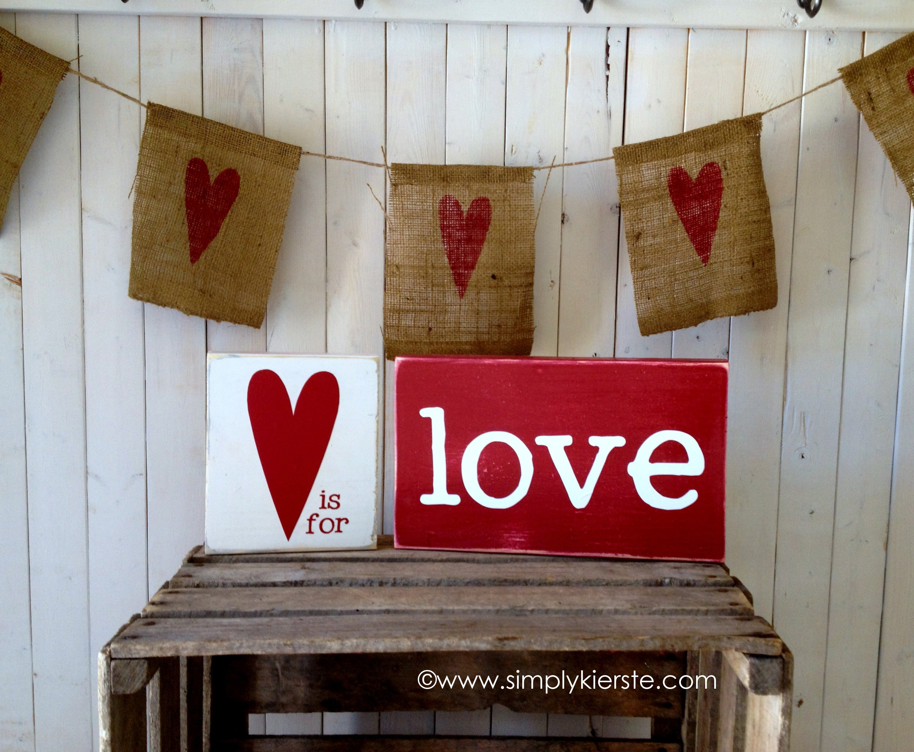 {♥ is for…love blocks}