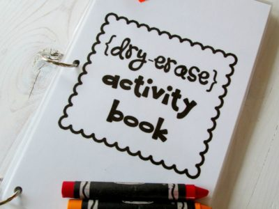 dry erase activity book 2 title logo