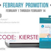 {february ♥ silhouette promo}
