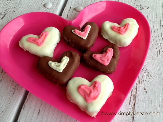 oreo heart truffles, valentine's day dessert