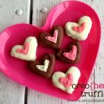 Oreo Heart Truffles