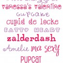 valentine fonts fixed