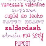 {free valentine fonts}