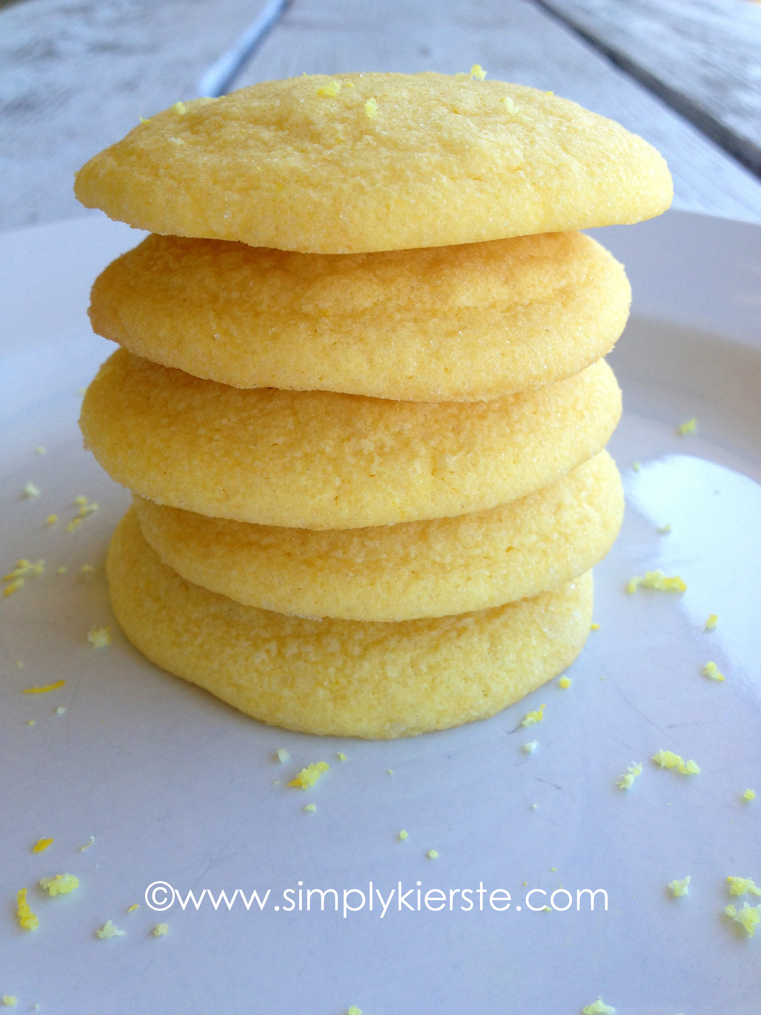 Yellow Cake Cookies With Chocolate Chips