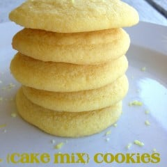 cake mix cookies | simplykierste.com