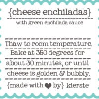 {freezer meal labels}  free printables!