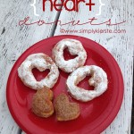 {easy heart donuts}