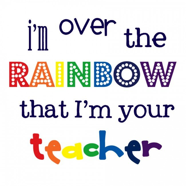 over the rainbow teacher 2