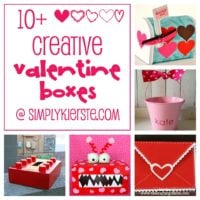 10+ Fun & creative valentine boxes