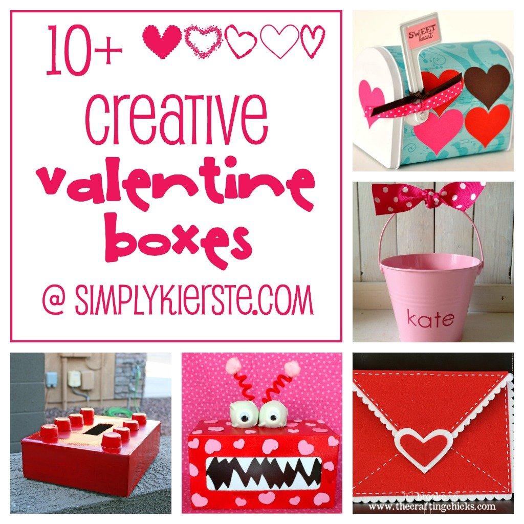 10+ Fun & Creative Valentine Boxes