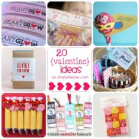 20 Simple & Adorable Valentine Ideas