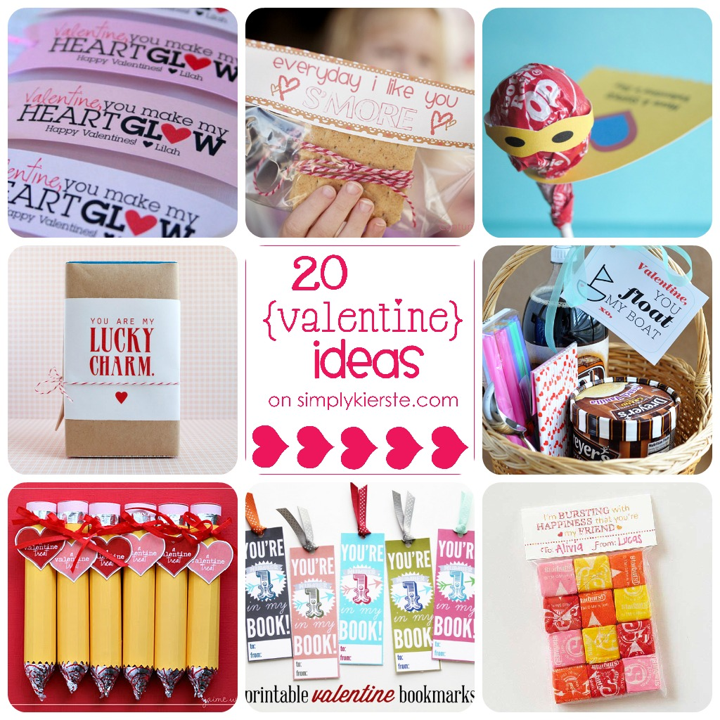 20 Valentine Ideas | simplykierste.com