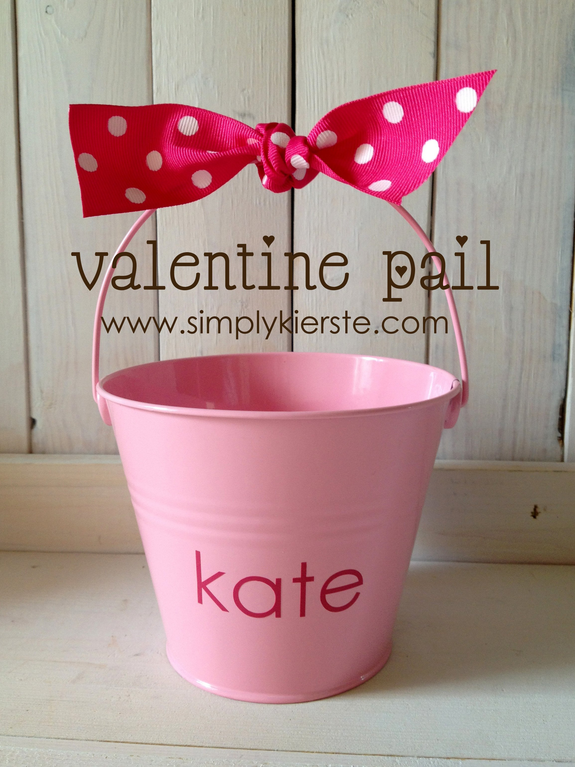 valentine pail title - How To Make Valentine Boxes