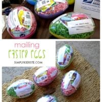 Mailing Easter eggs!
