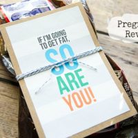 {it's baby time}  pregnancy reveal printable from craftaholics anonymous