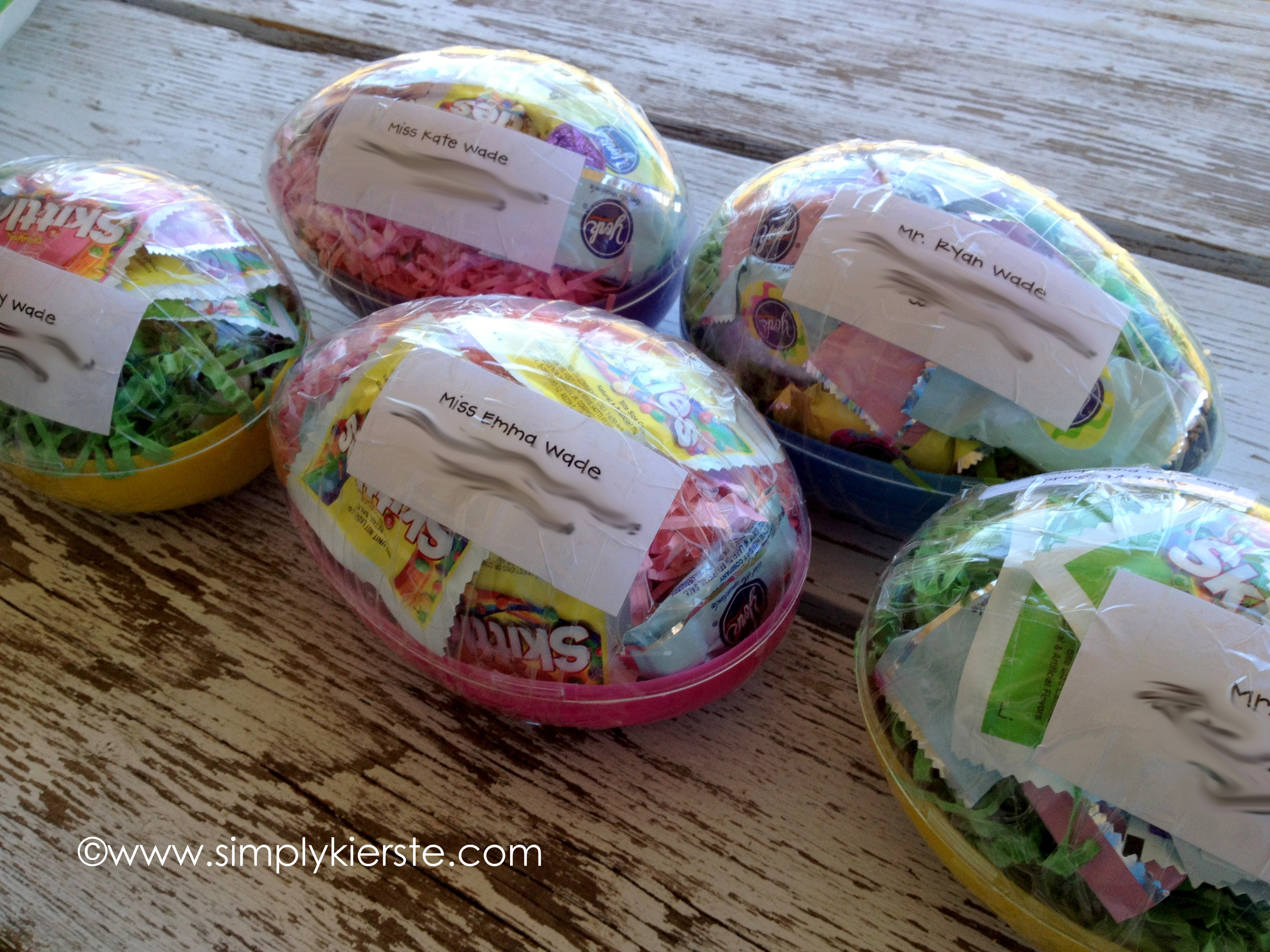 Mailing Plastic Easter Eggs