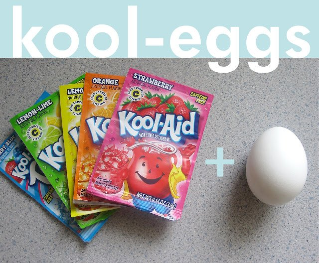 Kool-aid Eggs | Easter Egg Ideas for Kids | simpylkierste.com