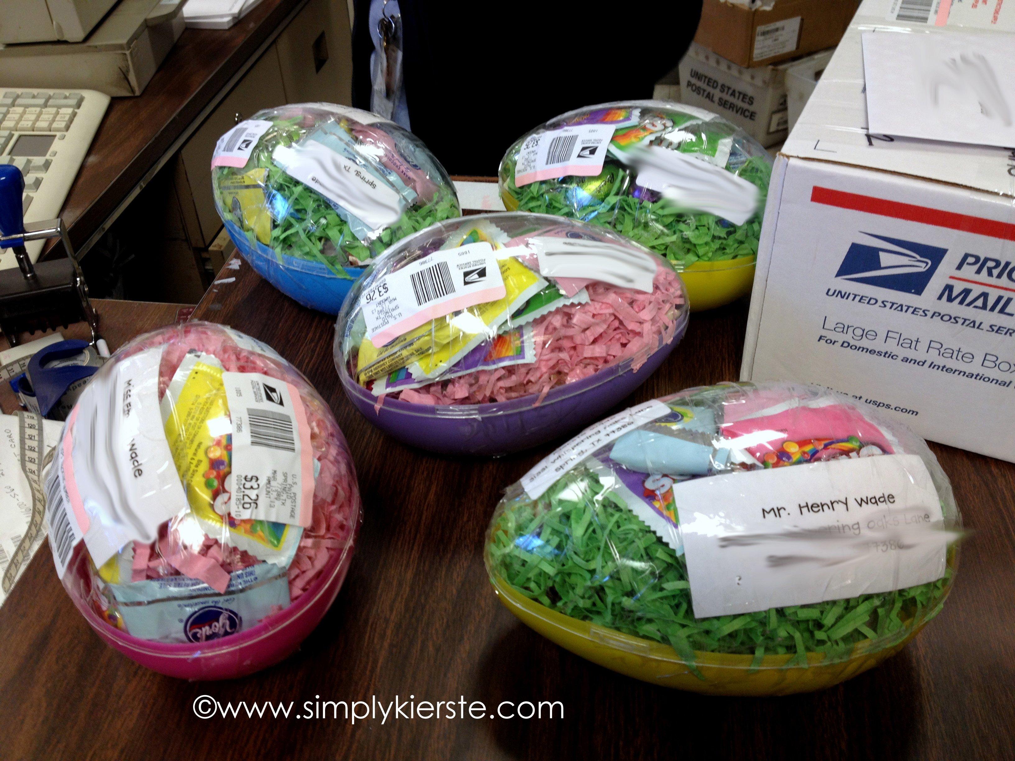 Mailing Easter Eggs Simplykierste Com