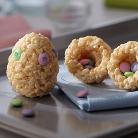 eggs rice krispies