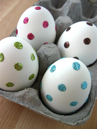 Sparkle Eggs | Easter Egg Ideas for Kids | simplykierste.com