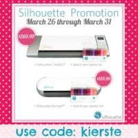 {silhouette GIVEAWAY and FABULOUS promo!!!} plus a sketch pen tutorial