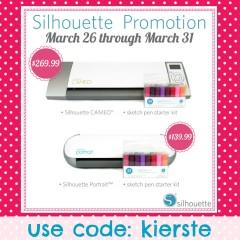 silhouette promo code | simplykierste.com