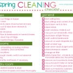 {spring cleaning!} printable checklist & tips