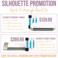 {silhouette GIVEAWAY and promo!}