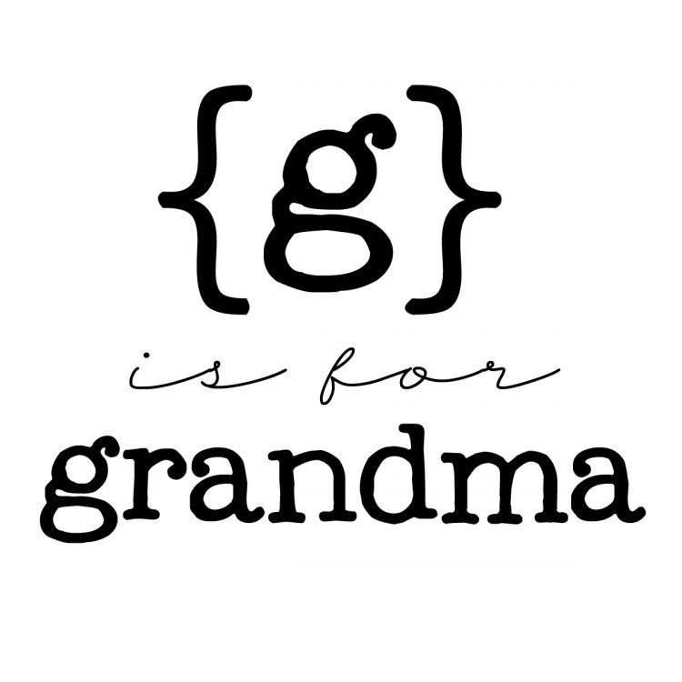 g is for grandma copy