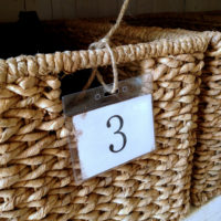 {simple DIY numbered labels}